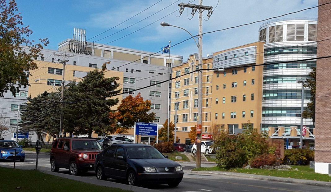 L'Hôpital régional de Rimouski.