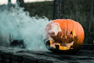 Rue fermée pour l'Halloween