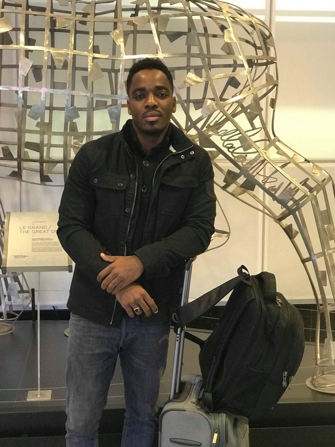 Patrice Cineus, étudiant Haïtien