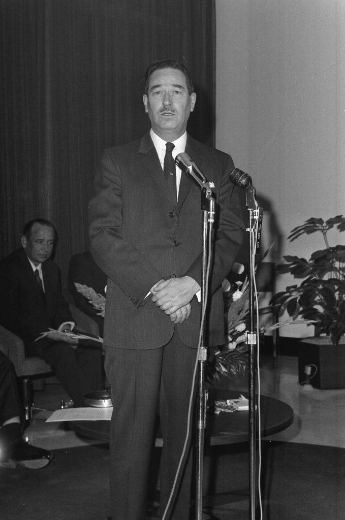 Maurice Tessier, maire de Rimouski de 1961 à 1970