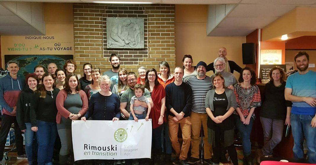 L'assemblée citoyenne de Rimouski en transition en décembre 2019