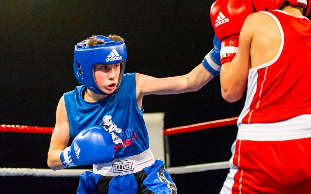Jeune boxeur prometteur