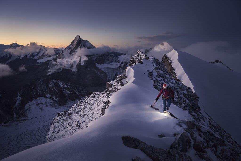 À flanc de montagne comme si vous y étiez!