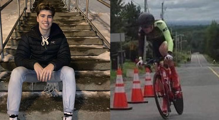 Cycliste Rimouskois, enfin de retour d'Espagne