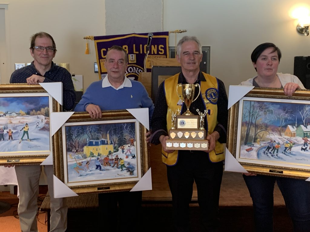 Le club Lions honore le bénévolat sportif pour une 55e année