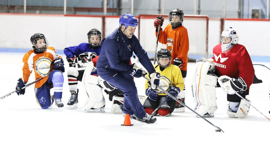 École de hockey; Patrick Caron;hockey Est-du-Québec