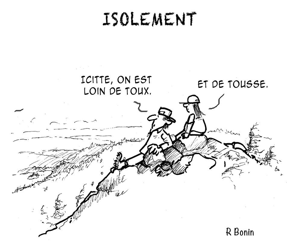 Raymond Bonin; caricature