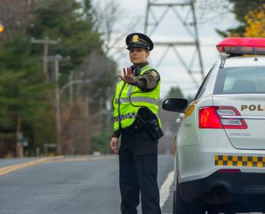 Les services de police en action concertée pour freiner la vitesse