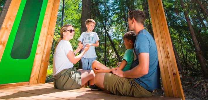 Québec donne le «ok» à un été en camping et en chalet!