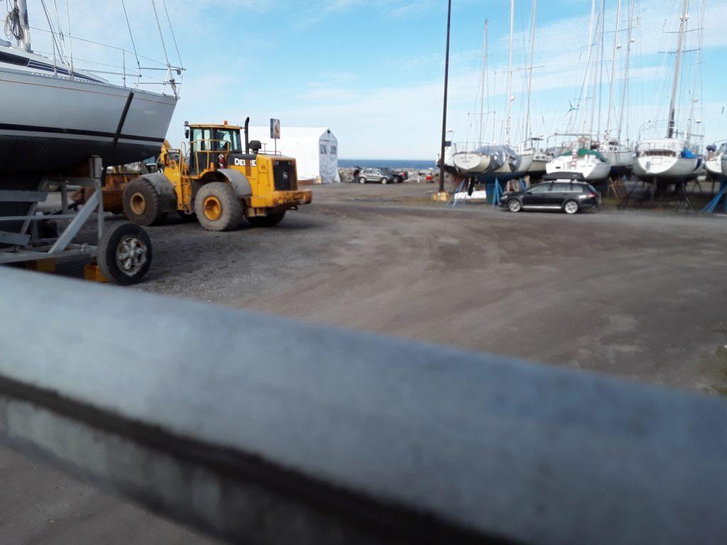Les travaux de la rampe de mise à l'eau sont à refaire