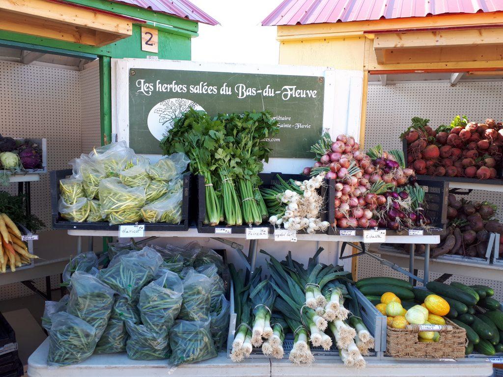 La Semaine québécoise des marchés publics s'invite au Bas-Saint-Laurent