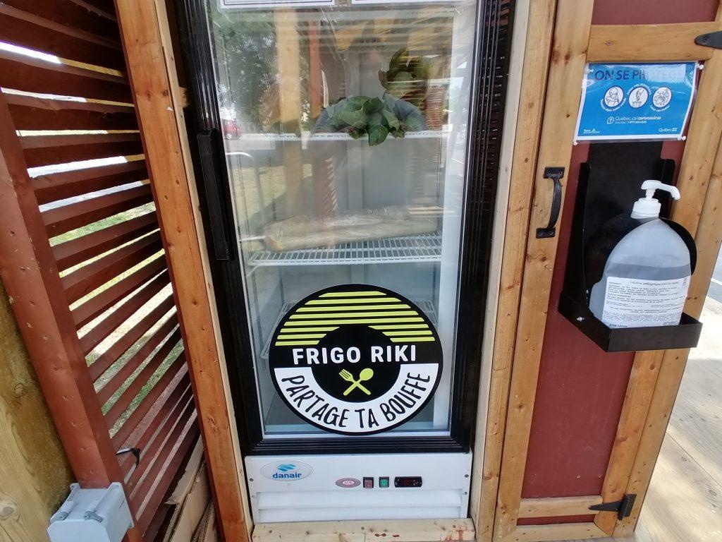 Le Frigo-Riki de retour au parc de la Gare