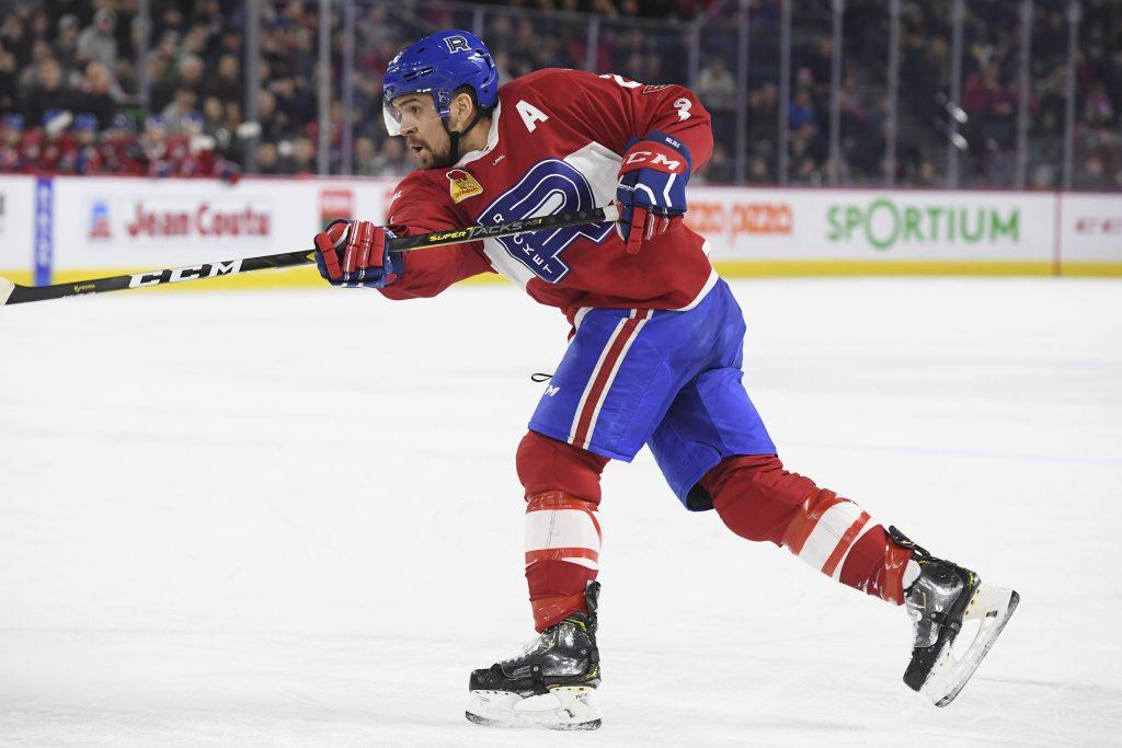 Alex Belzile dans la « bulle » du Canadien
