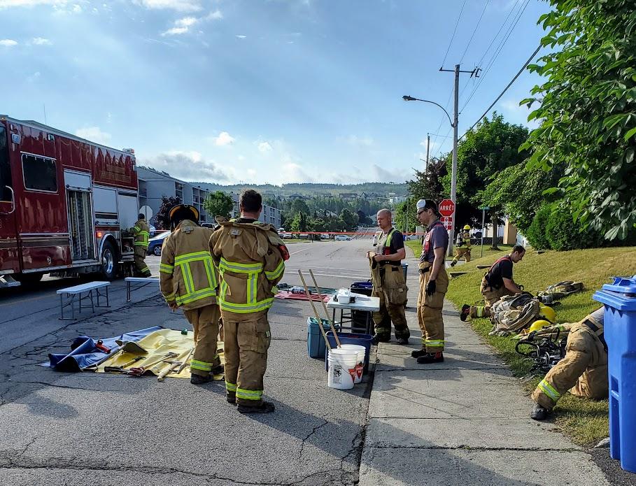 Pompiers, service incendie