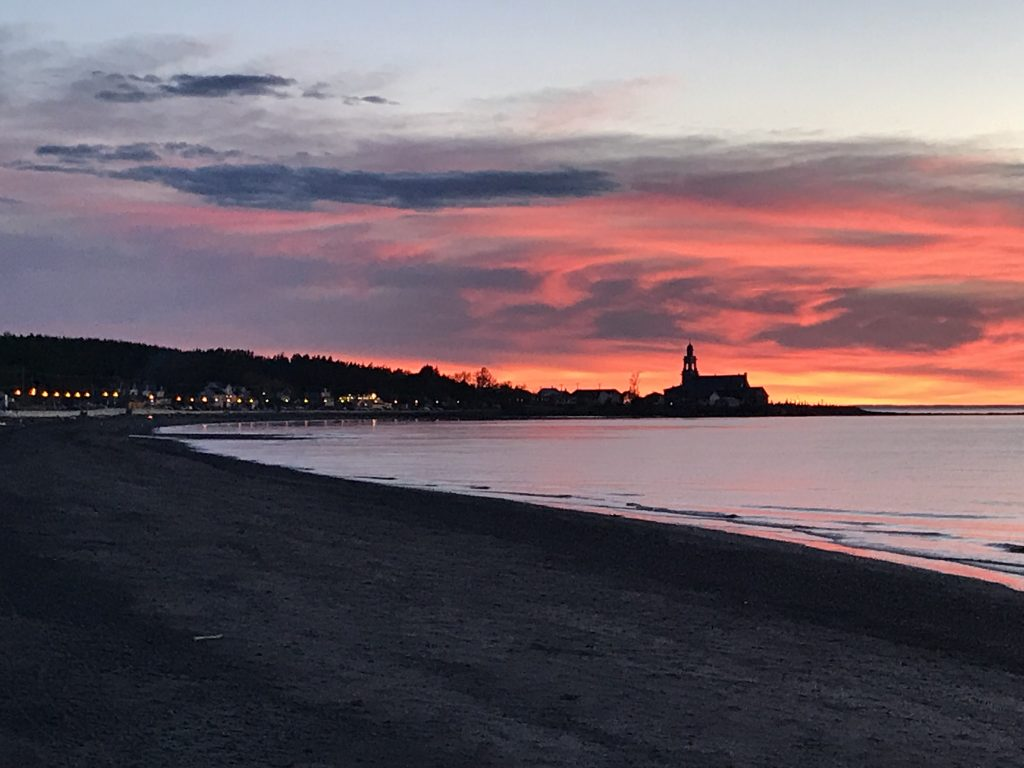 Coucher de soleil, Sainte-Luce-sur-Mer