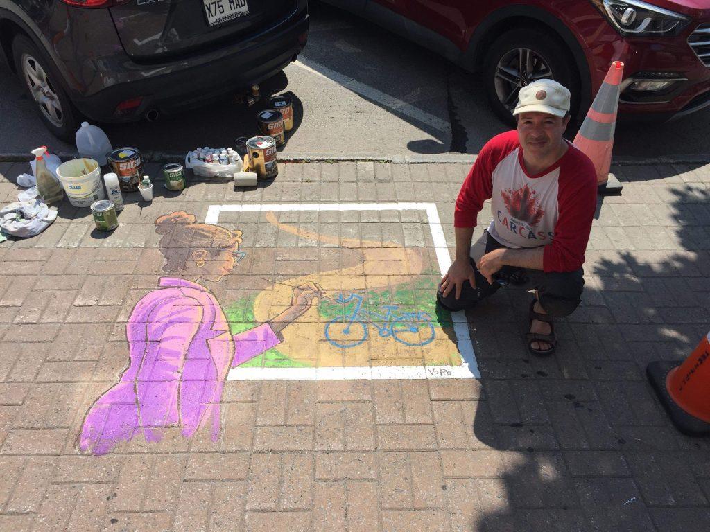 VoRo travaille à embellir le centre-ville