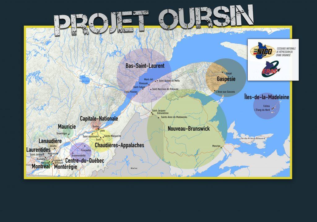Un accusé du projet Oursin écope de 57 mois de prison