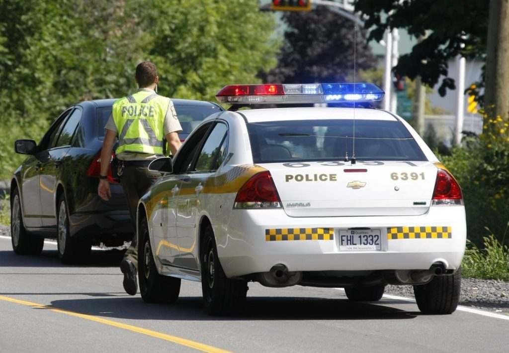 397 constats d'infraction distribués dans une opération policière