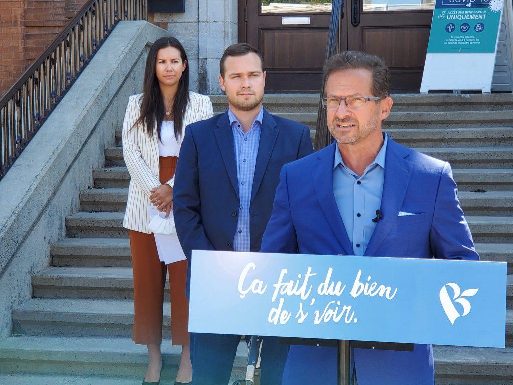 Le Bloc Québécois présente son plan de relance