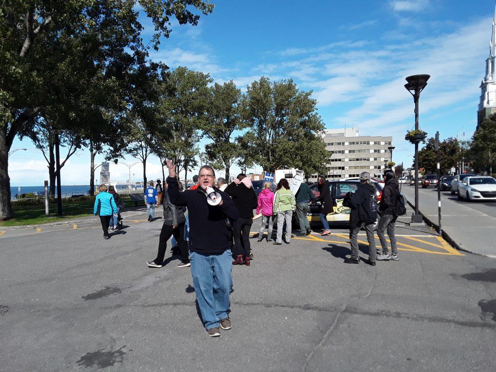 Manifestations : le maire de Rimouski demande à la SQ d'intervenir