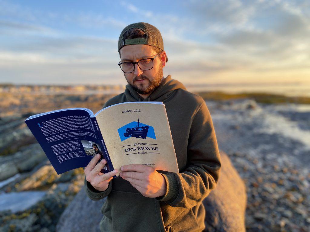 Samuel Côté lance « Le monde des épaves au Québec »