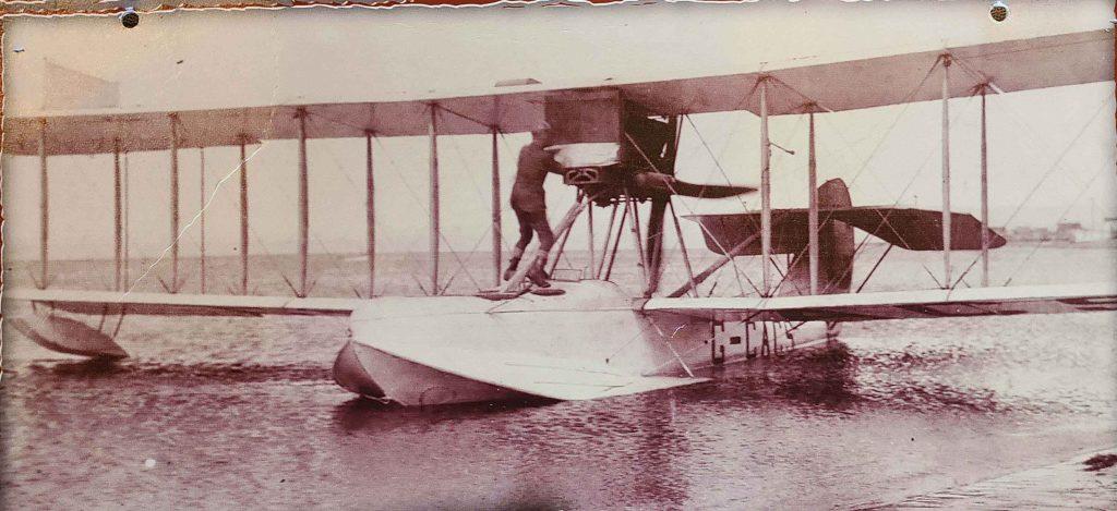 L'épave d'un « bateau volant» découverte 94 ans plus tard