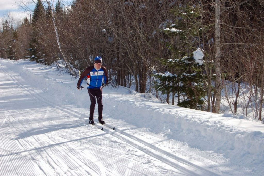 Ski de fond: réfection de la traverse du ruisseau Chaud