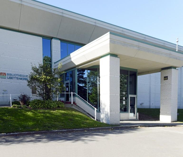 La bibliothèque Lisette-Morin rouvrira le 2 novembre