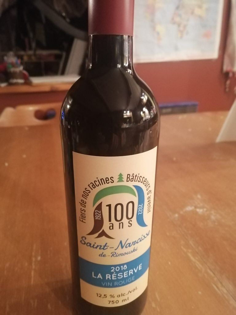 Une cuvée spéciale de vins pour le 100e anniversaire de Saint-Narcisse