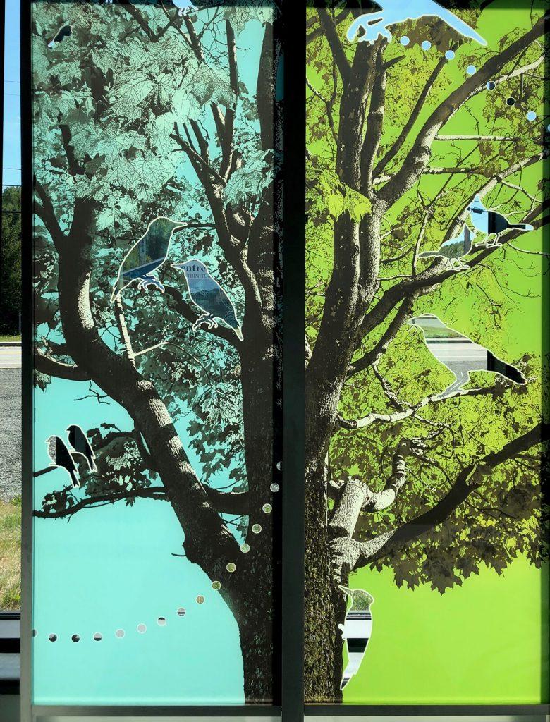 Une œuvre d'art qui représente bien la Trinité-des-Monts
