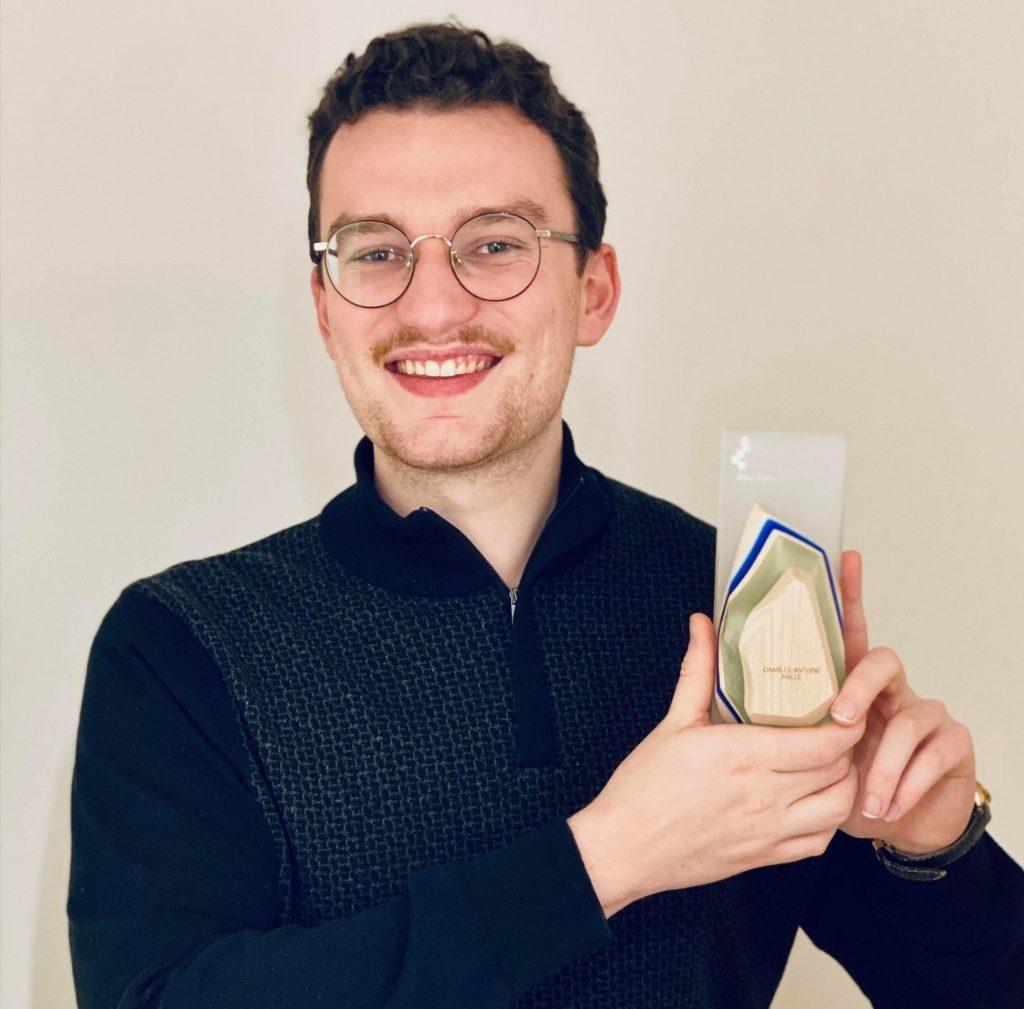 Un rimouskois d'origine reçoit le prix Reconnaissance jeunesse