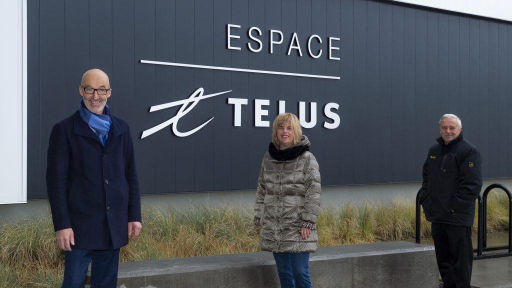 TELUS et la Ville de Rimouski célèbrent l'ouverture de l'Espace TELUS