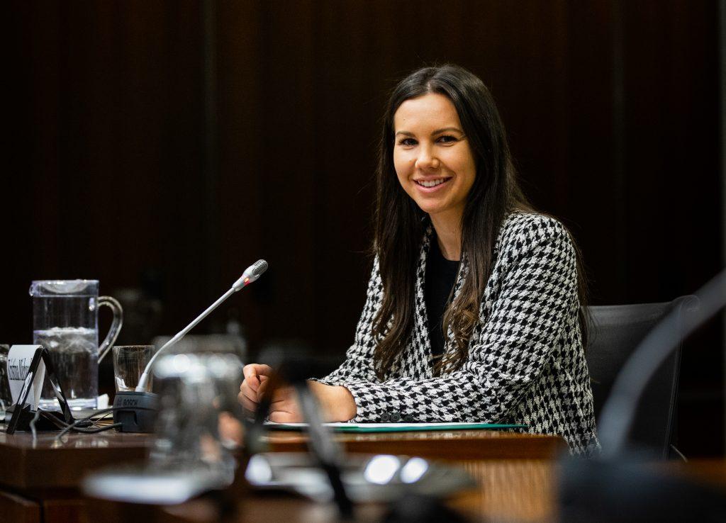 Un tout nouveau site web pour mieux suivre la députée Kristina Michaud