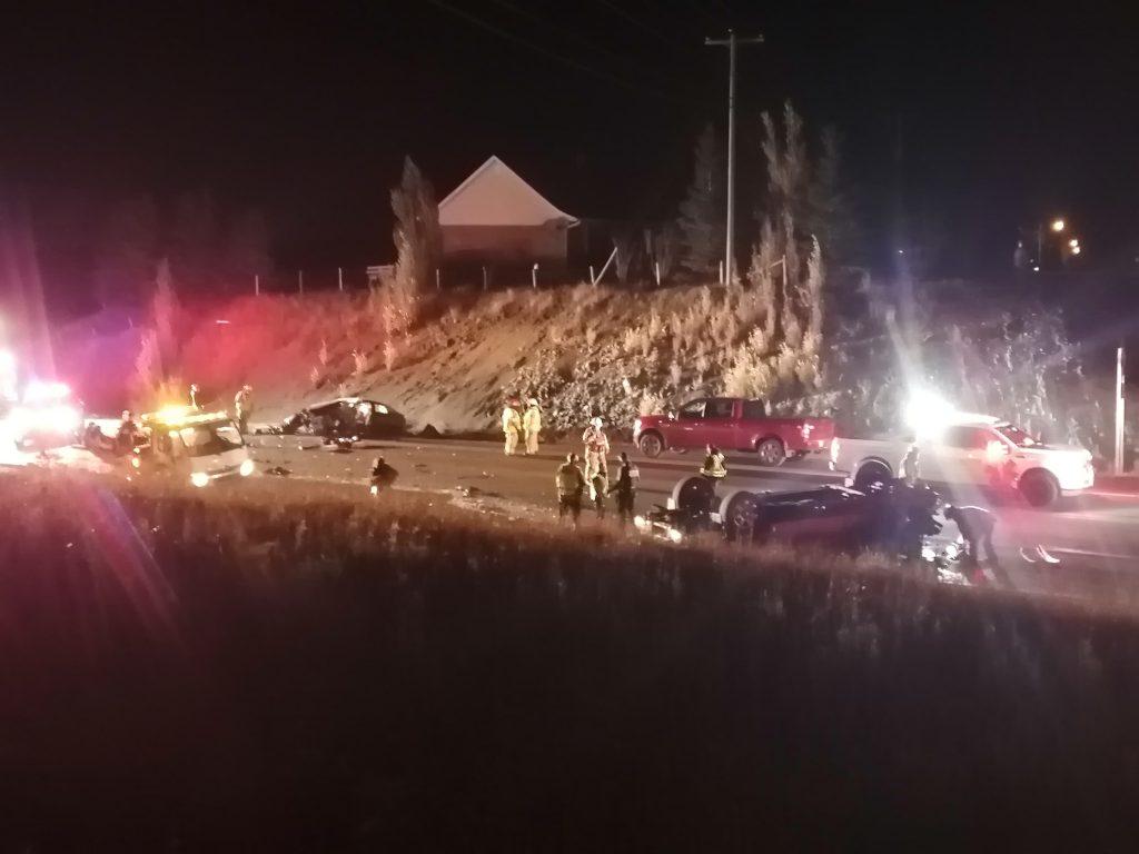 La collision sur la Montée Ste-Odile a fait deux blessés