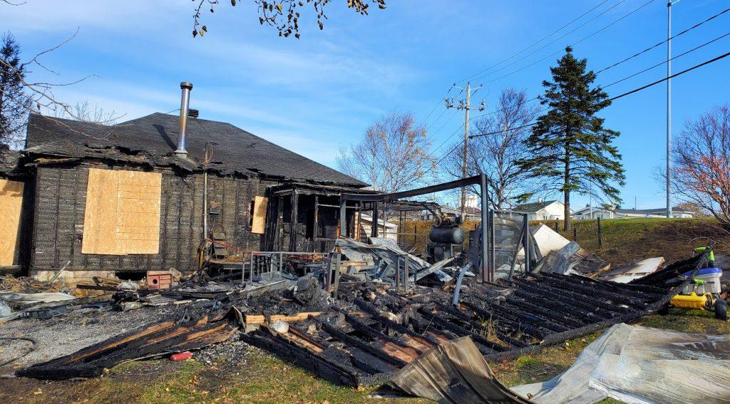 Incendie de Pointe-au-Père, une perte totale probable