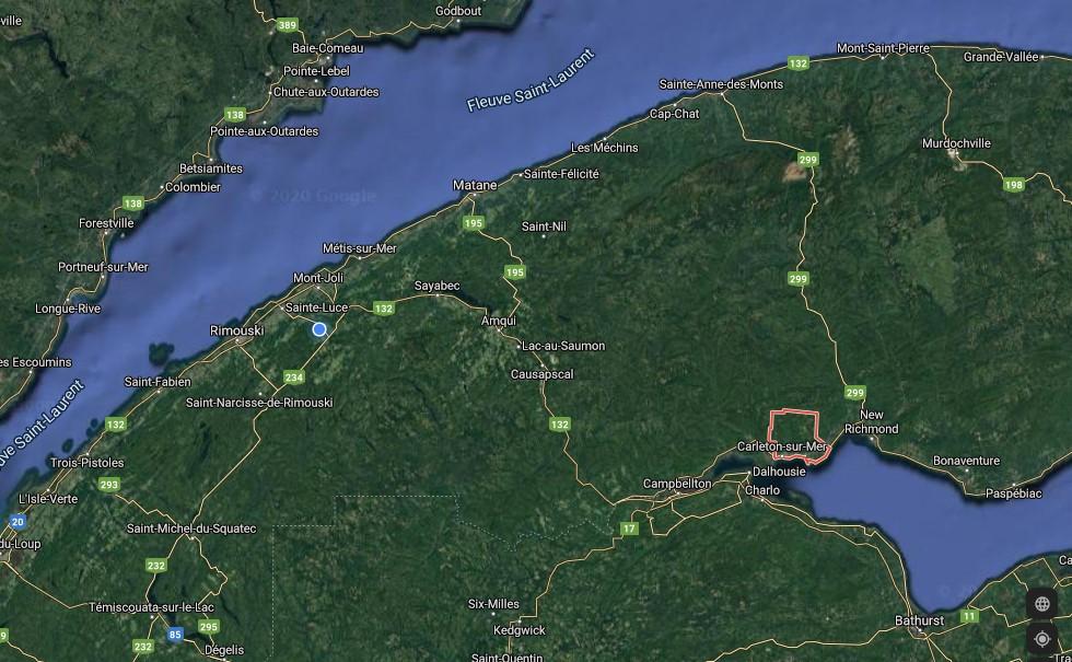Deux décès dans un accident en Gaspésie