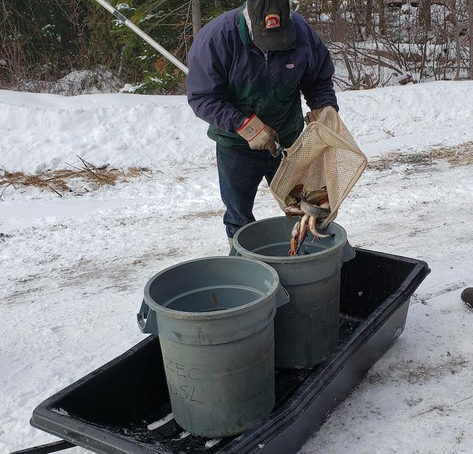 La Zec-BSL ouvre la pêche blanche au lac Chic-Chocs