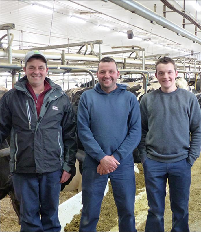 Le 2e meilleur troupeau laitier au Canada provient de la région