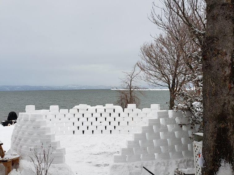Profiter de la relâche pour participer au Défi château de neige