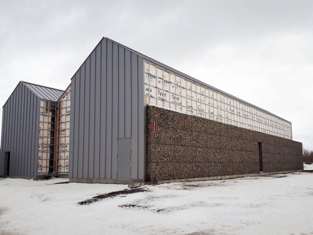 Un mur de pierre pour donner la saveur du Saint-Laurent aux spiritueux