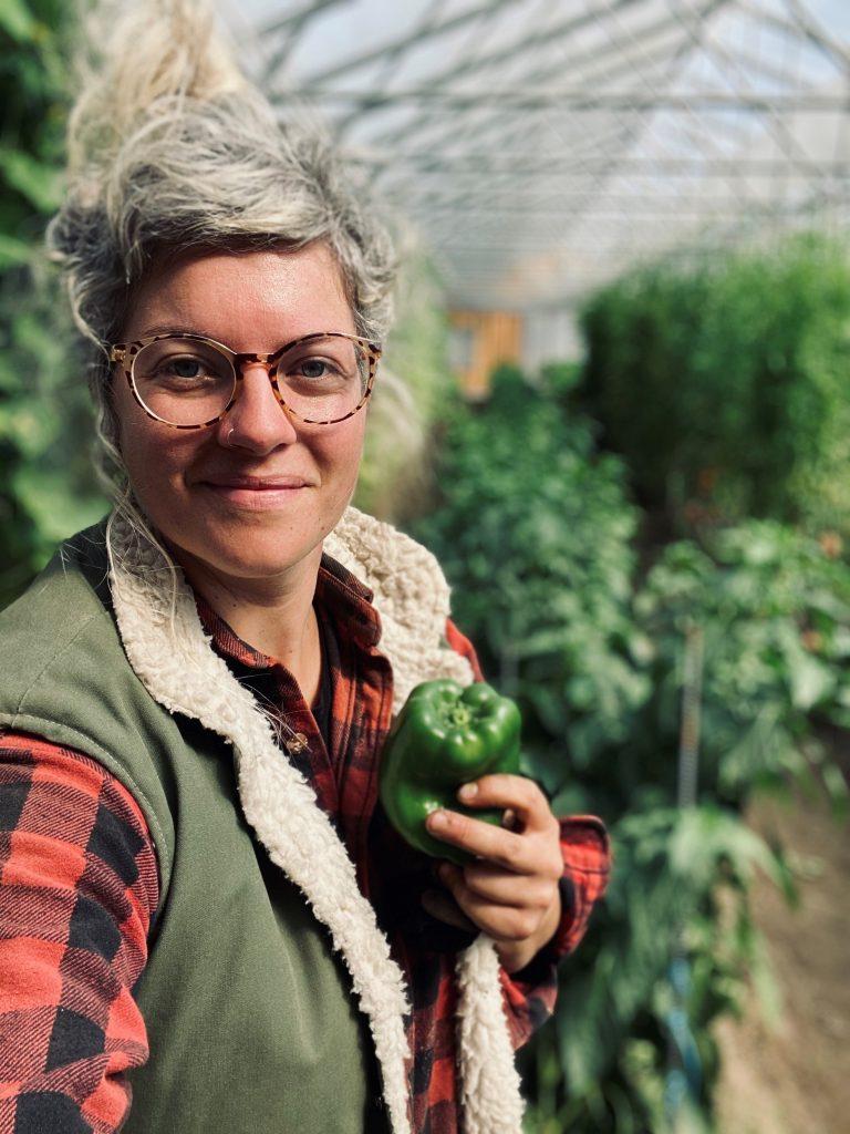 Karine Lebeau, Les Jardins d'la Terre du rang