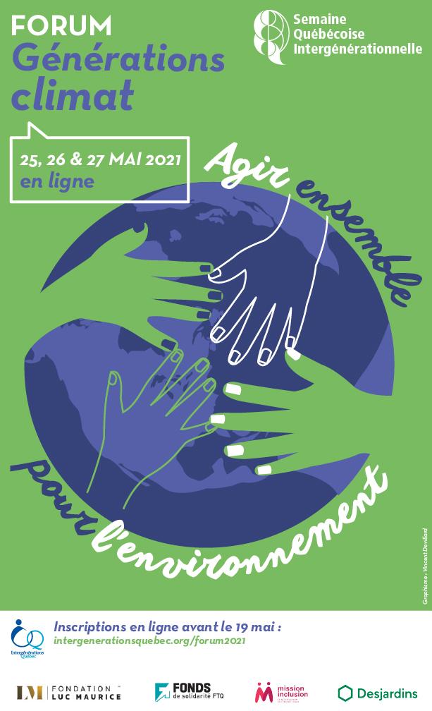 Un forum pour unir les générations face à l'urgence climatique