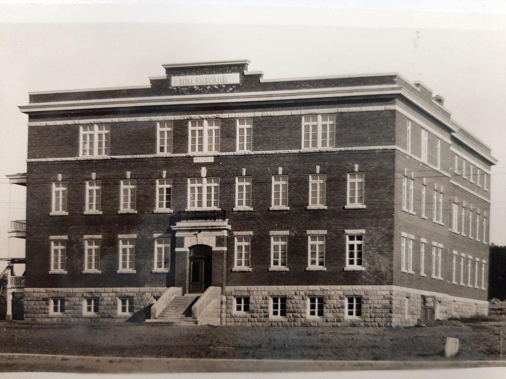 L'École moyenne d'agriculture de Rimouski