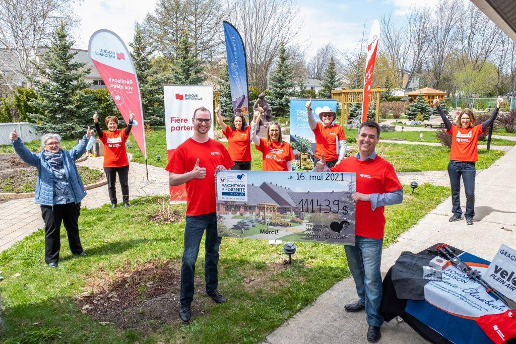 Le Marchethon de la Dignité établit un record de 111 439 $ en dons