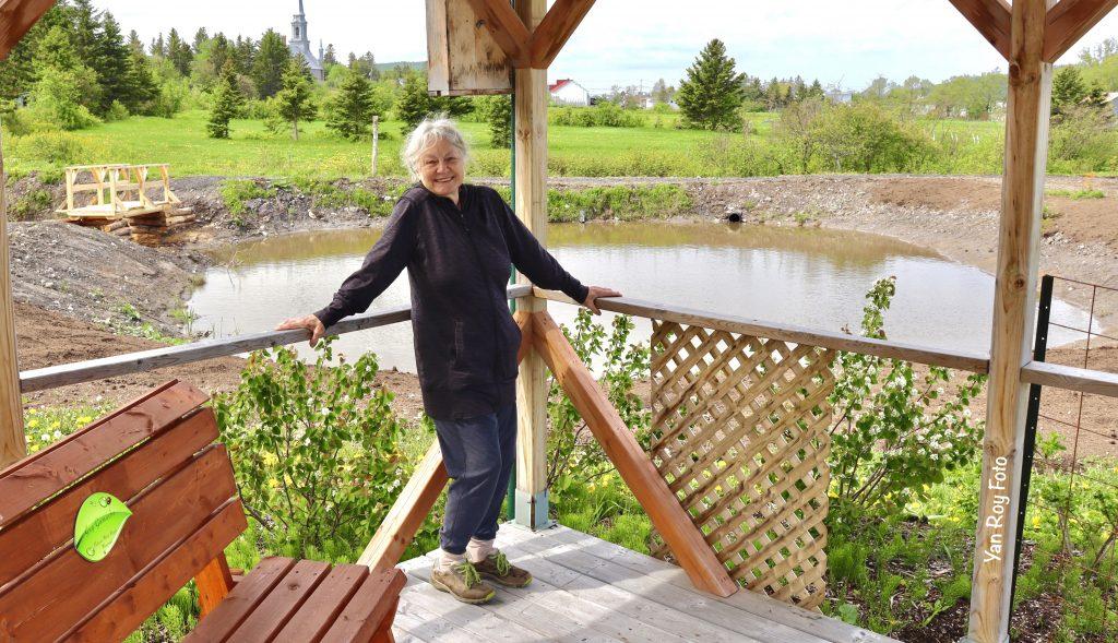 Micheline Lanctôt, une marraine d'exception pour le Parc Croc-Nature