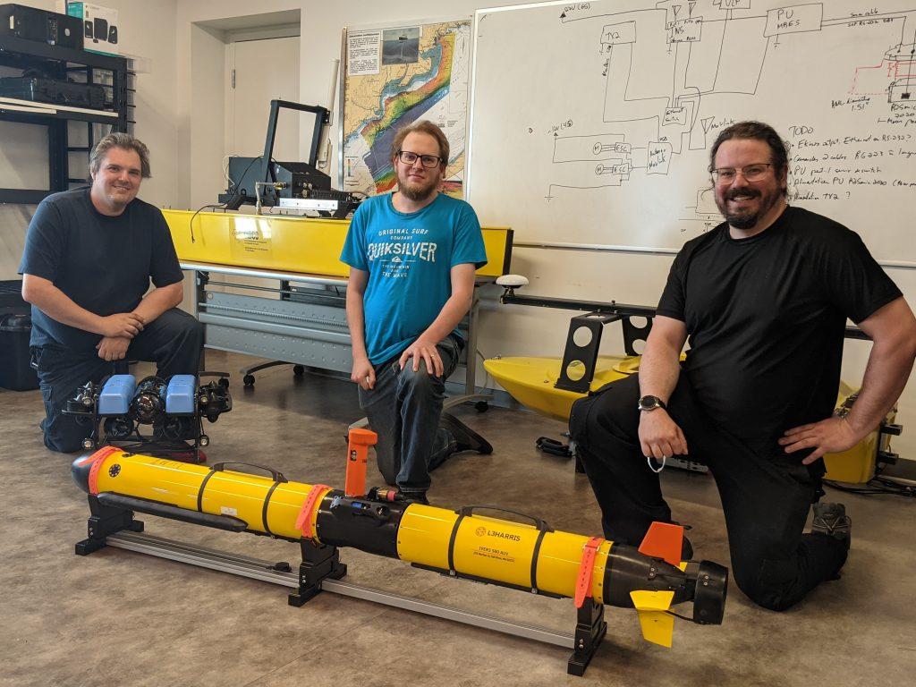 Rimouski à l'avant-plan de la robotique marine