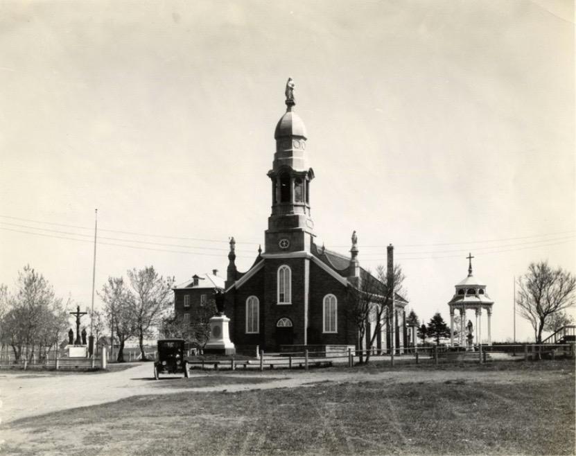 Le sanctuaire de Sainte-Anne de la Pointe-au-Père