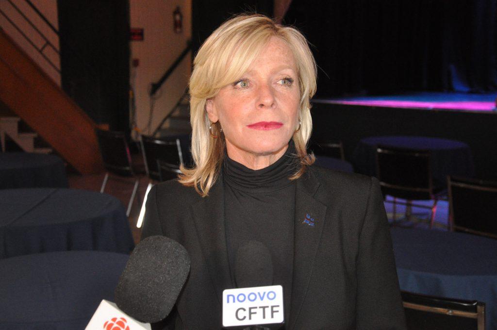 La ministre Caroline Proulx sensible au Vieux-Théâtre