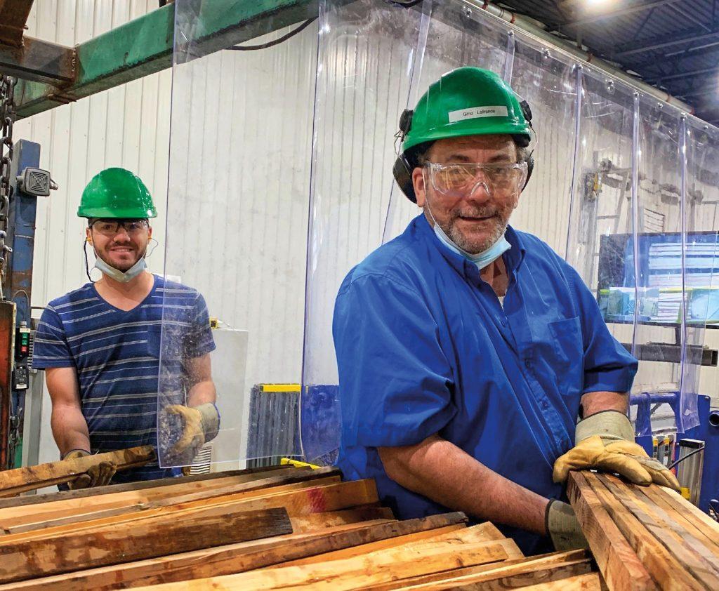 Cedrico durement touchée par la crise de la main-d'œuvre