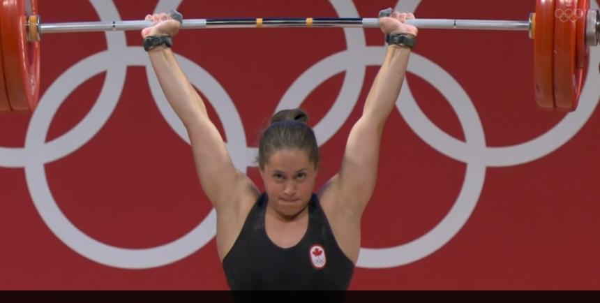 Maude Charron gagne la médaille d'or